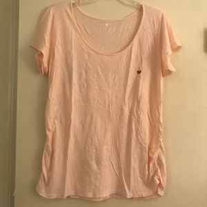 """Old Navy """"Amour"""" Maternity T-Shirt XL"""